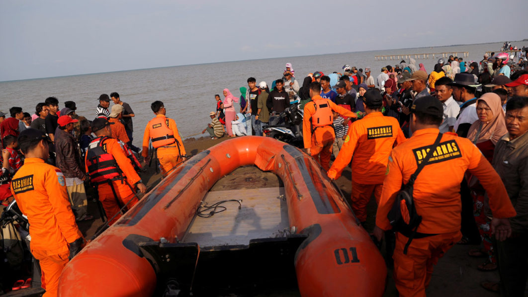 Indonesian Lion Air plane crashes into sea with 188 passengers, crew