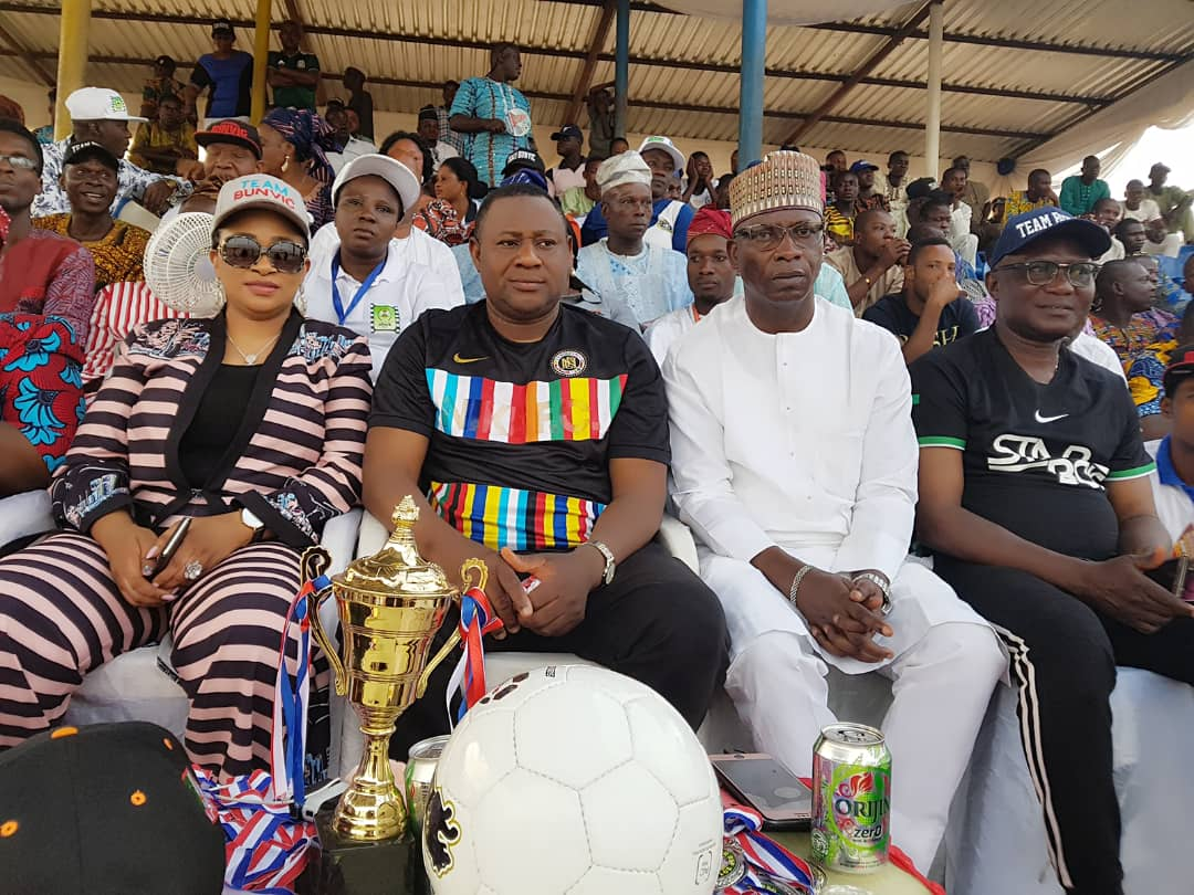 Hon. Bunvic Football Competition Final Holds in Ogbomoso