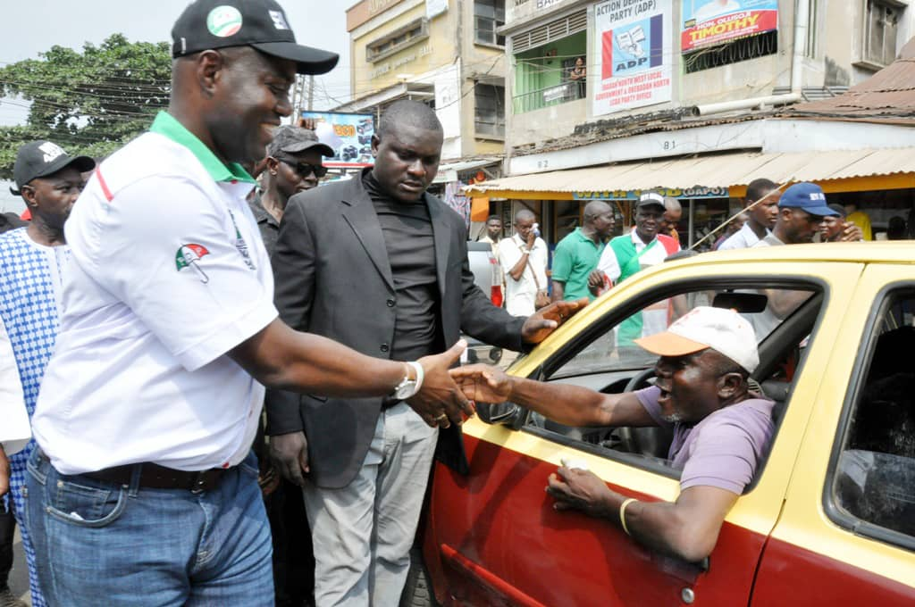 Photo Speak: PDP Governorship Campaigns In Ibadan Northwest
