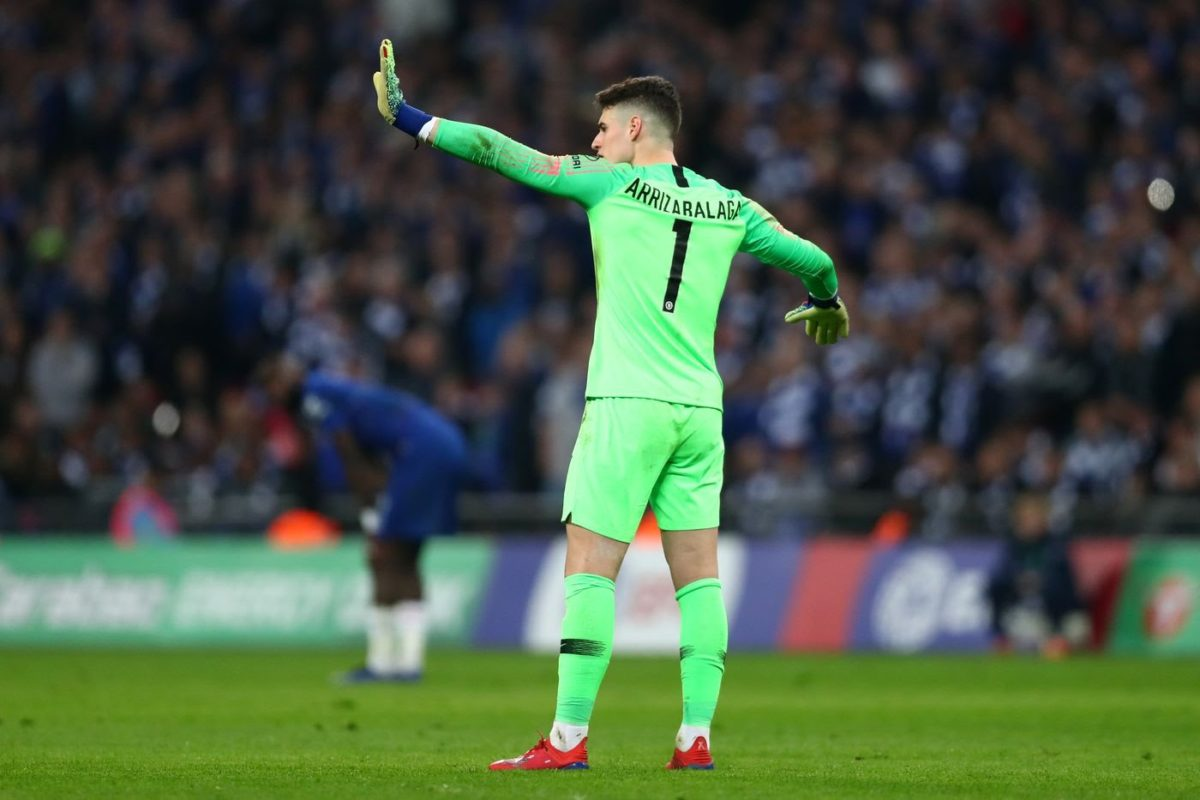 Chelsea Fines Kepa £190,000 For Refusing To Be Substituted In A Match