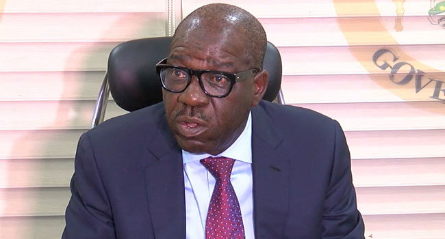 Edo 2020: Don't Spill Blood For My Re- Election Obaseki To Supporters