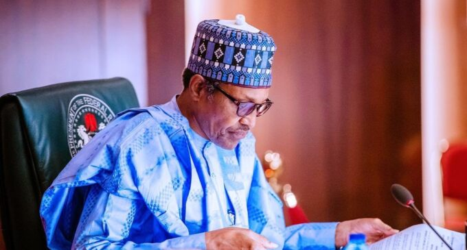 Just In: Buhari Says FG Has Commenced Distribution Of N10.9b Worth Of Palliatives