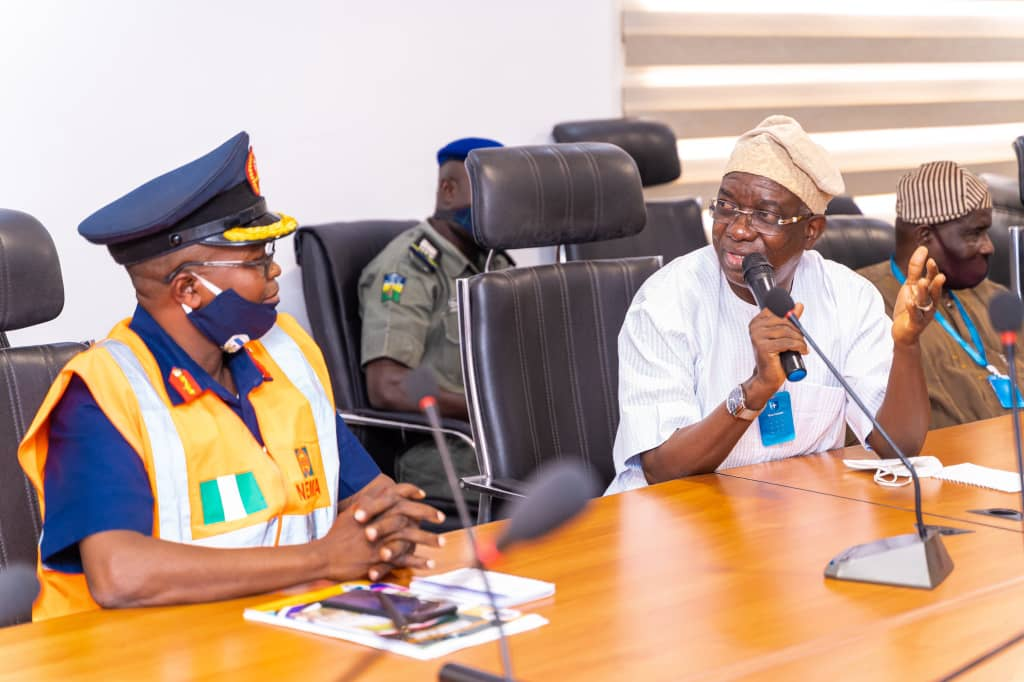 Makinde Hosts NEMA DG, Assures Of Oyo's Full Support In Disaster Management