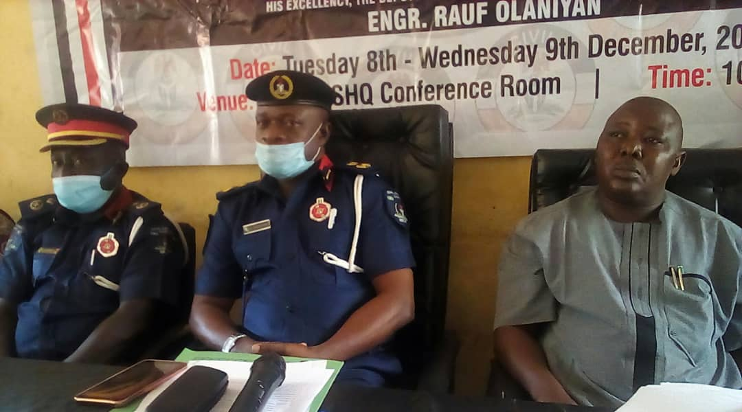 Oyo Command Of NSCDC Holds 2-Day Workshop/Training On Disaster Management For Officers