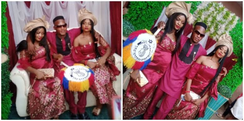 Social Media On Fire As Twin Sisters Wed Same Man Because They Are Inseparable