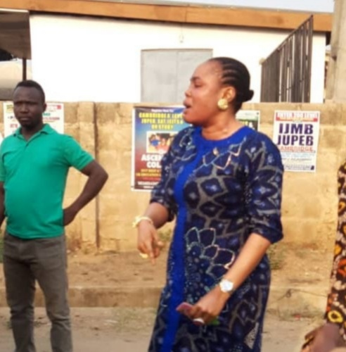Woman Arrested In Ibadan For Slapping OYRTMA Personnel