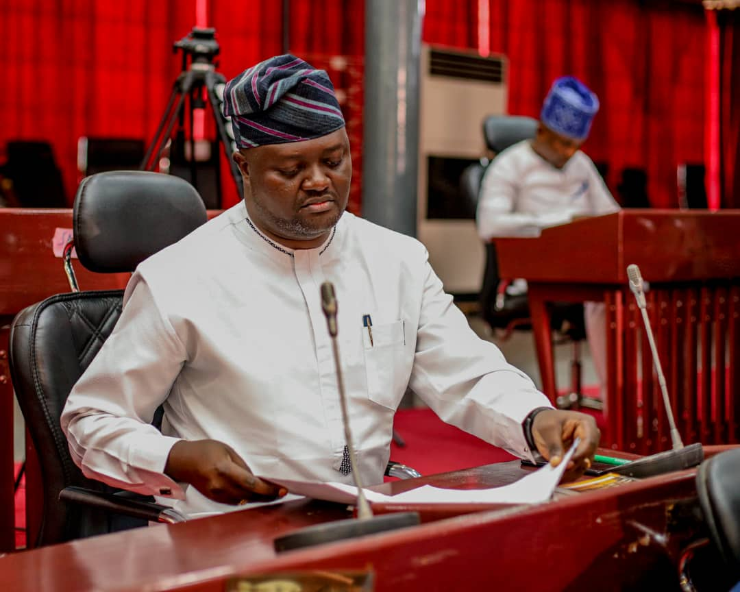 GATE INFERNO: Oyo Assembly House C'mittee Chairman On Commerce, Akintunde Olajide, Commends Makinde Over N50m Relief Support
