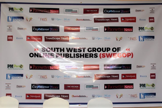 South West Group Of Online Publishers (SWEGOP) Holds Two-Day Workshop For Members At Ilaji Resort