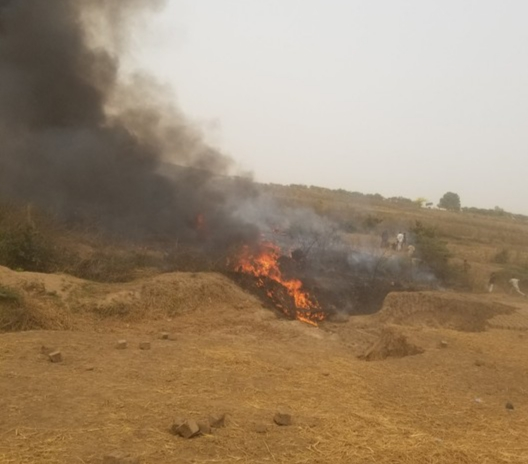 Military Plane Crash Lands In Abuja 8 People Feared Dead