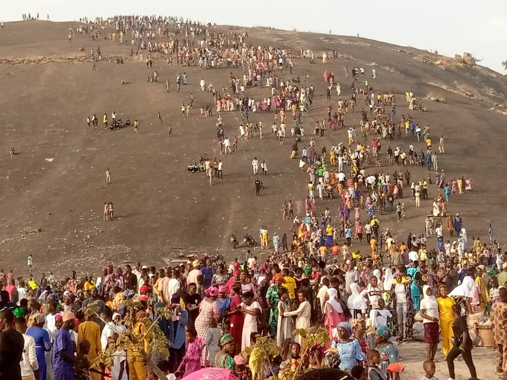 Easter: Igbeti Residents Ecstatic As Abiodun Oni Takes Celebration To Okin, Iyamopo Hills in Olorunsogo (See Photos)