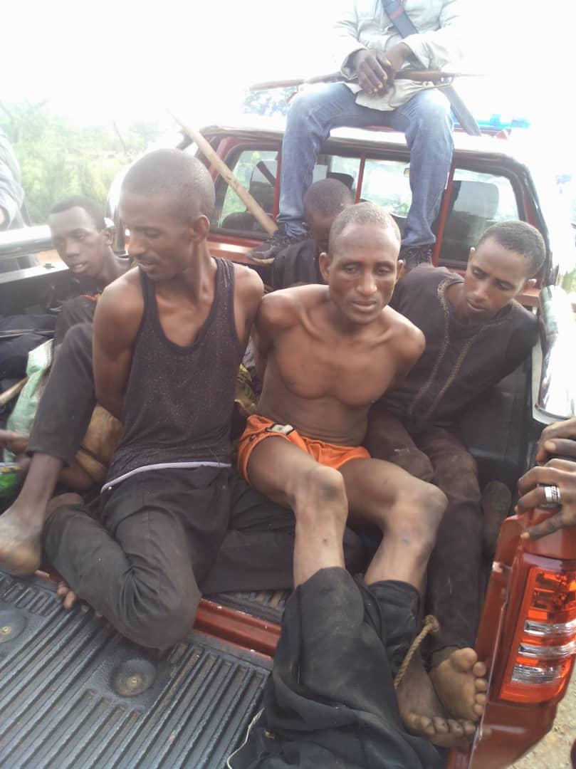 Bandits Apprehended By Oyo Amotekun