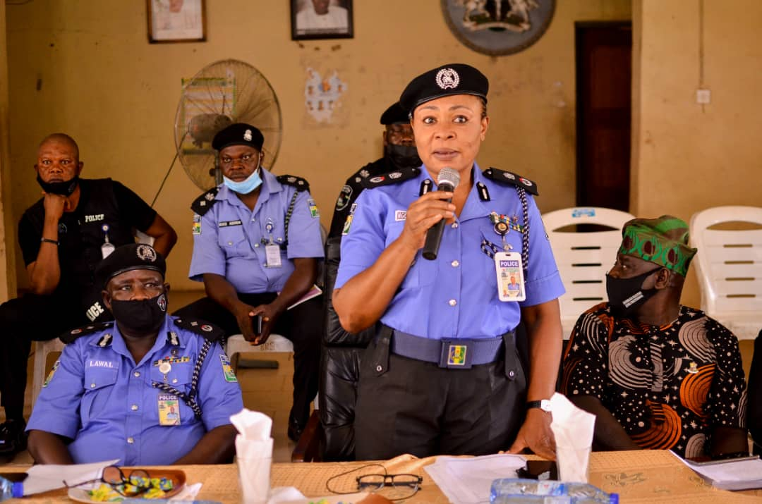 Community Policing: Oyo Police Command Partners Other Security Agencies, Stakeholders