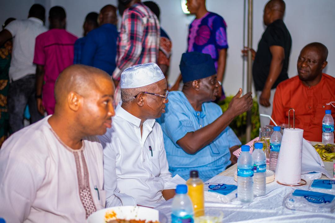 Ramadan Iftar: Oyo Deputy Governor Host Members Of The NUJ Warns Against Making Iftar A Political Event.